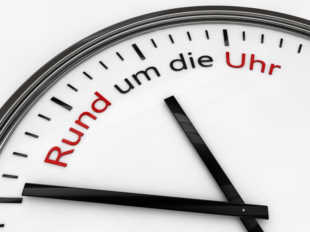 Rund um die Uhr Betreuung und Pflege © hati, stock.adobe.com