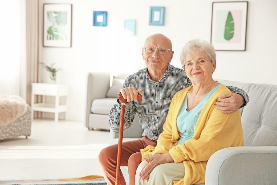 Senioren Ehepaar im eigenen Appartement © New Africa, stock.adobe.com
