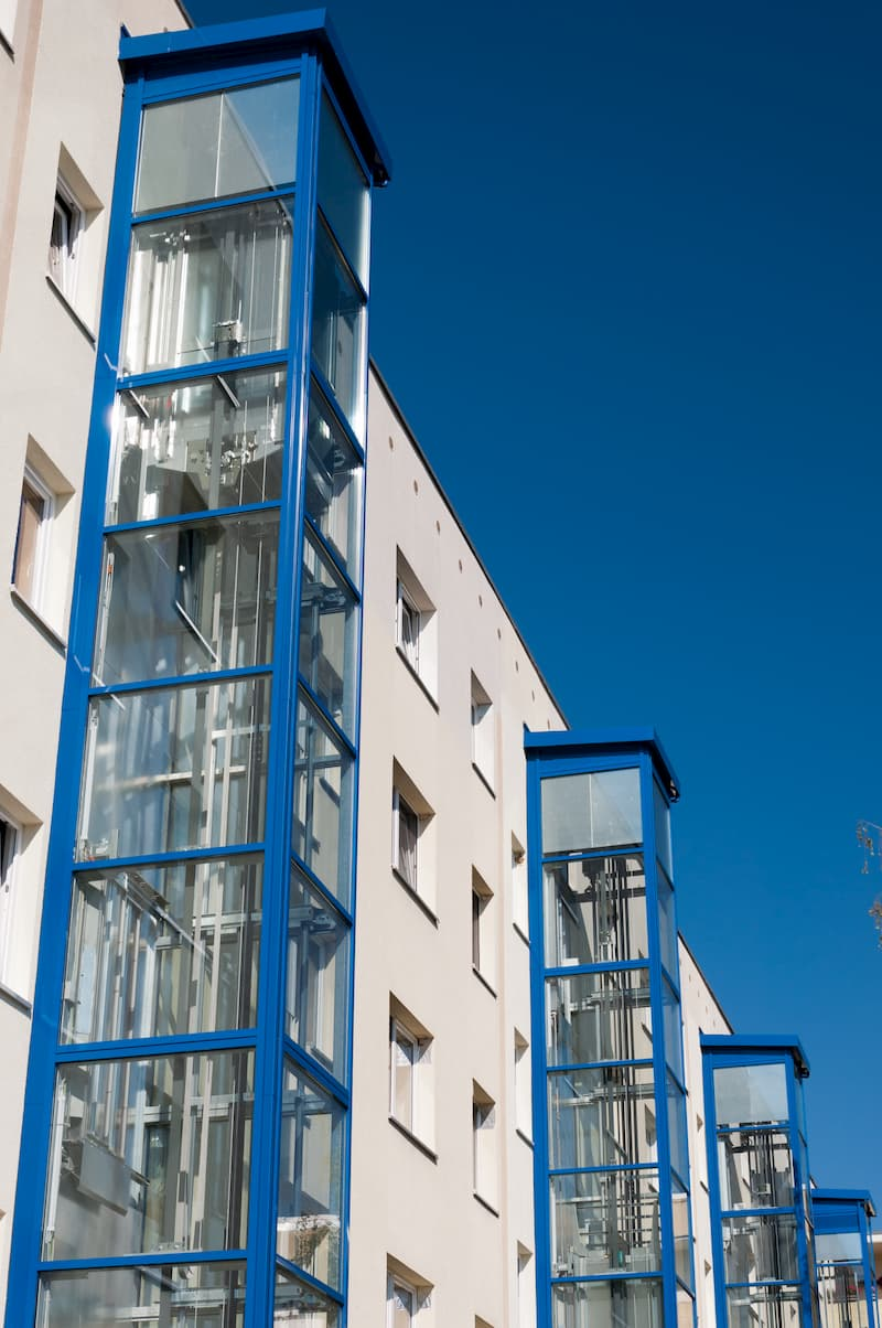 Außenaufzüge © the builder, stock.adobe.com