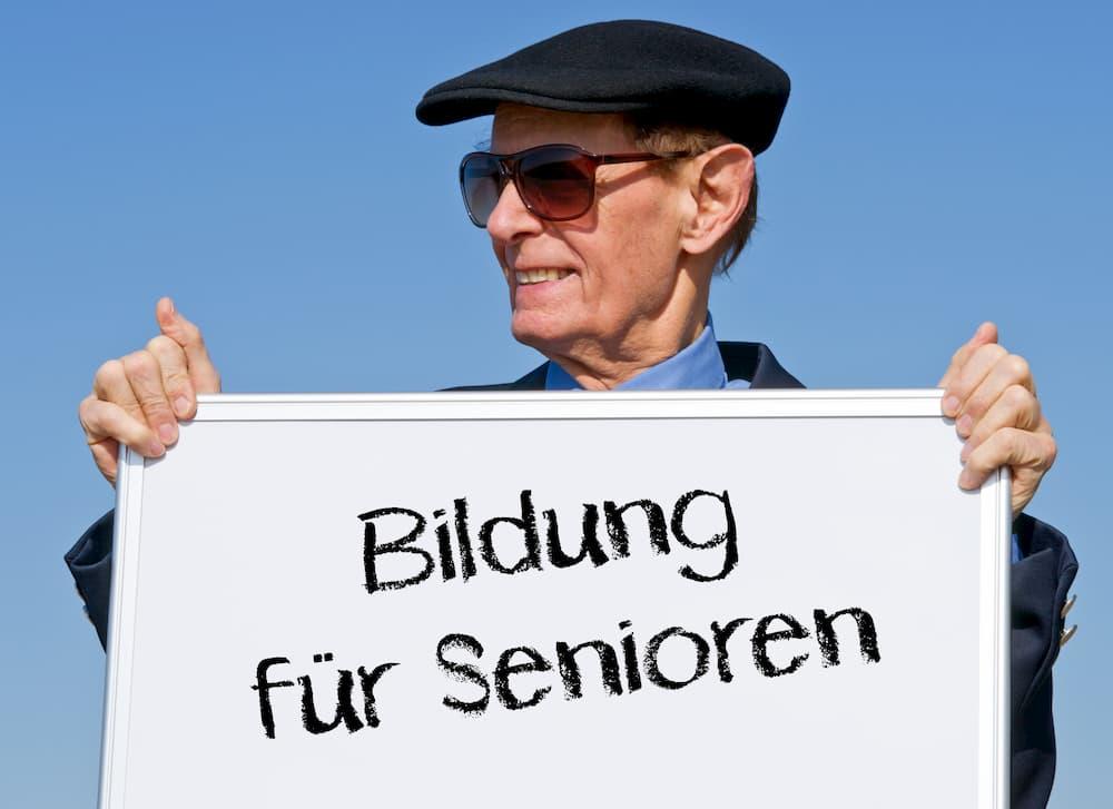 Immer beliebter: Bildung für Senioren © Doc Rabe Media, stock.adobe.com
