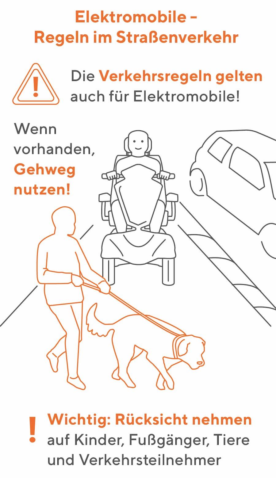 Elektromobil: Regeln im Straßenverkehr
