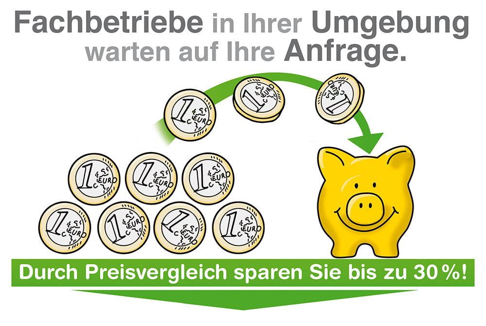 Fachbetriebe Preisvergleich: Geld sparen
