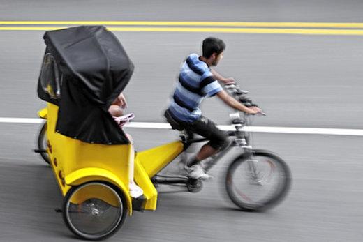 Fahrrad-Rikscha © bluraz, fotolia.com