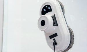 Roboter für die Fensterreinigung