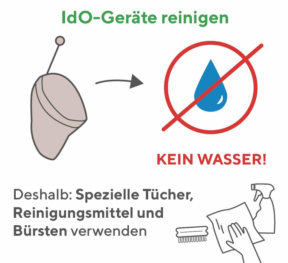 Hörgeräte (IdO) reinigen: So gehen Sie vor