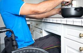 Küche barrierefrei