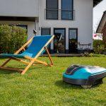 Roboter für die Rasenpflege
