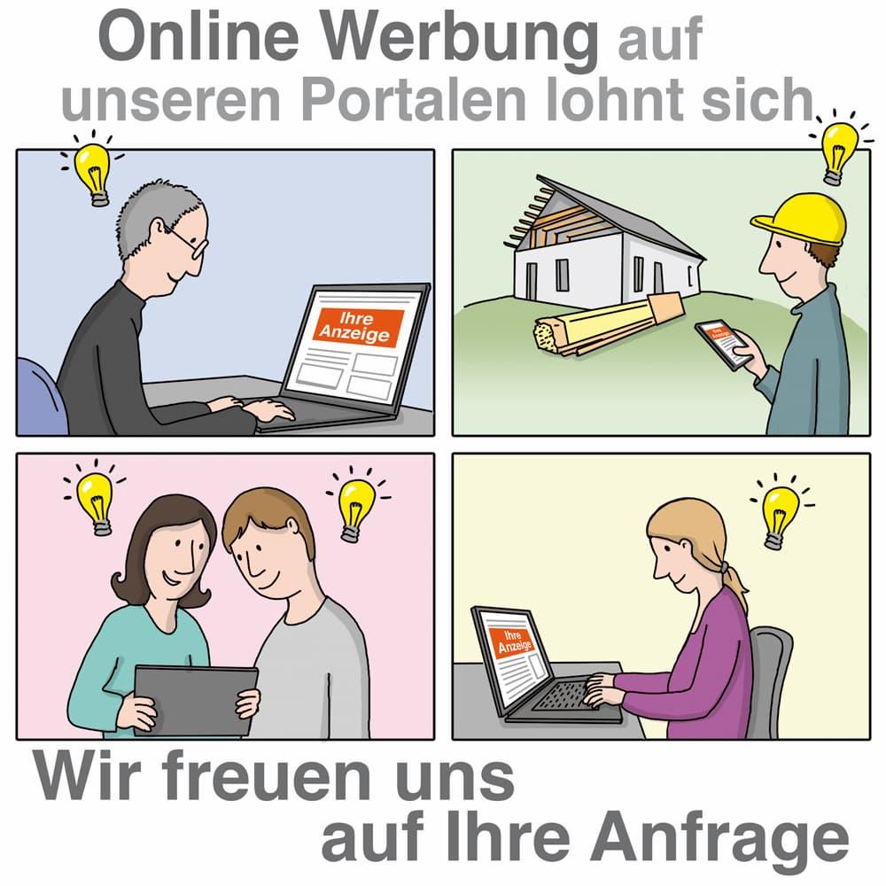 Online Werbung auf unserem Portal lohnt sich