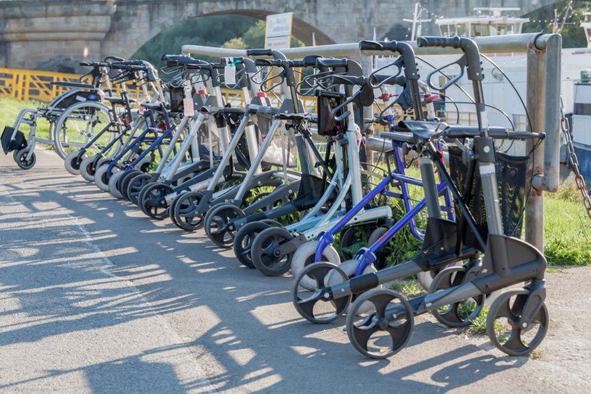 Rollator: Verschiedenste Modelle © hkmedia, fotolia.com