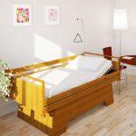 Pflegebett und Seniorenbett