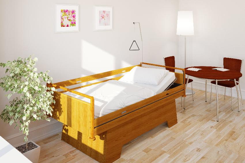 krankenbett seniorenbett oder pflegebett das macht den unterschied. Black Bedroom Furniture Sets. Home Design Ideas