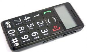 Mobil-Telefon für Senioren