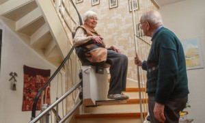 Treppenlift oder Homelift