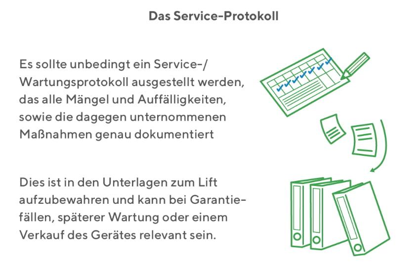 Treppenlift: Das Service Protokoll