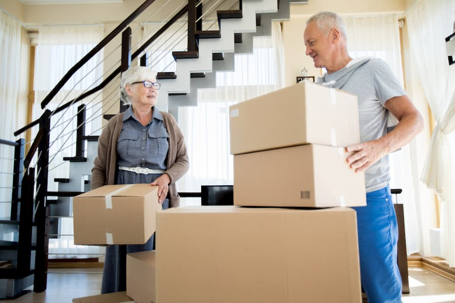 Senioren ziehen um © pressmaster, stock.adobe.com